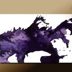 purple abstract art #etsy #wostudios #abstract #purple