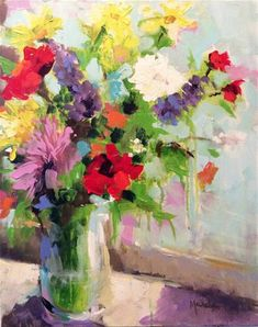 """Daily Paintworks - """"Becoming"""" - Original Fine Art for Sale - © Marcia Hodges"""