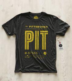 Pittsburgh tee by Pilot & Captain  www.pilotandcaptain.com