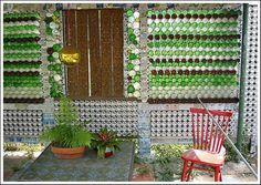 aluminum can house