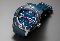 Celebrating 10 years, Magrette launches a new dive watch called the Moana Pacific Professional Kara. This is the first watch from Magrette with a titanium case.