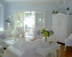 Living Room Shabby Chic Design, Pictures, Remodel, Decor and Ideas - page 13