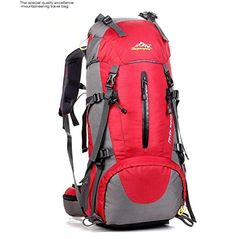 JIN Outdoor sports 50L travel, hiking backpack > To view further, visit now : Backpacking gear