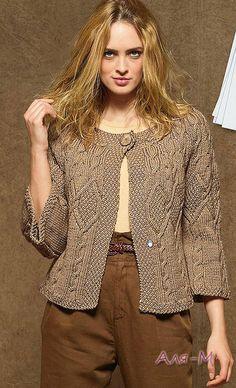 вязание спицами пальто жакеты кардиганы - Пошук Google