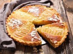 Tarte aux poires : la meilleure recette Pear tart: Much too fatty, respect the cooking time, cook the pears in sugar water, lemon, cinnamon. Pear Pie, Pear Tart, Pie Recipes, Sweet Recipes, Dessert Recipes, Oreo Dessert, No Cook Desserts, Oreo Cheesecake, Cooking Time