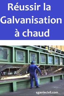 Reussir La Galvanisation A Chaudles Principales Recommondations