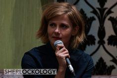 Molly Hooper is here! #louisebrealey is on stage now at #Sherlocked! #Sherlock