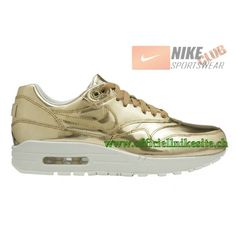 finest selection eec72 42a1d Nike Wmns AIR MAX 1 SP LIQUID METAL Chaussures Officiel Nike Pour Homme  GOLD 616170-700,Nike Wmns AIR MAX 1,Nike Air Max 1 SP,Nike Air Max 1 SP Pas  Cher 95 ...