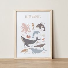 🎁 Choose 4 prints or sets of prints (add 4 items to your basket), use the 4FOR2 code at checkout, and receive 50% off on your order!  Ocean Animals, Educational Posters, Whale Print, Ocean Nursery, Octopus Print, Nautical Decor, Montessori Wall Art, Classroom, Homeschool  Thanks to this educational Childrens Wall Art, Art Wall Kids, Nursery Wall Art, Octopus Print, Whale Print, Dinosaur Posters, Animal Posters, Pink Wall Art, Wall Art Prints