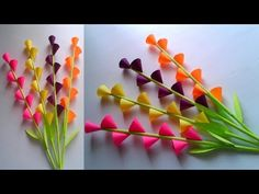 easy paper flowers Easy and beautiful paper flower making Paper Flower Wreaths, How To Make Paper Flowers, Tissue Paper Flowers, Paper Roses, Flower Crafts, Paper Flower Making, Flower Making Crafts, Origami Flowers, Paper Crafts Origami