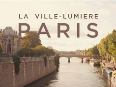 typography + city = paris
