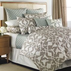 Barbara Barry Poetical Bedding By Barbara Barry Bedding, Comforters, Comforter Sets, Duvets, Bedspreads, Quilts, Sheets, Pillows: The Home Decorating Company