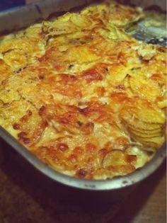 Kartoffelgratin nach Jamie Oliver