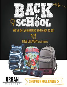 105e552bc7d Start this September in style with our back to school range - available NOW!