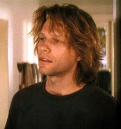 """Jon Bon Jovi acting as a painter in """"Moonlight and Valentino""""...love this scene & movie"""