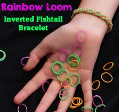 How To Make A Rainbow Loom Inverted Fishtail Bracelet  http://kidpep.com/blog/how-to-make-a-rainbow-loom-inverted-fishtail-bracelet/ Watch Here: http://youtu.be/DzDfFC18Urg