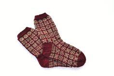 Sokker 37 - 38 Ruteleik Nye, Mars, Socks, Fashion, Moda, March, Fashion Styles, Sock, Stockings