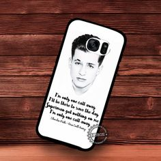 Charlie Puth One Call Away - Samsung Galaxy S7 S6 S5 Note 7 Cases & Covers