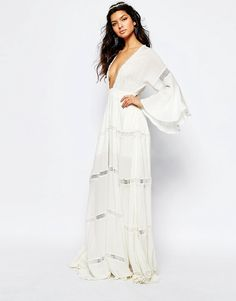 Image 1 of The Jetset Diaries Hammock Maxi Dress in White
