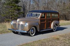 Original 1941 Plymouth P12 Special