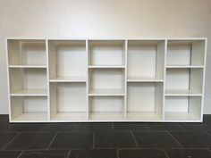 Biblioteca - Cubos - Divisor Horizontal Melamina Blanco 18mm - $ 1.500,00 en MercadoLibre