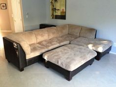 L shape couch $200