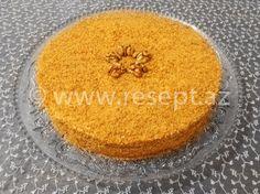 Ballı tort.  Ballı tortun resepti üçün: http://resept.az/balli-tort/  Azerbaycan metbexinden şirniyyat