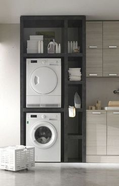 68 Stunning DIY Laundry Room Storage Shelves Ideas Essahouz Diy Home Decor dıy Essahouz Ideas Laundry Room Shelves Storage Stunning Laundry Room Remodel, Laundry Room Cabinets, Laundry Room Organization, Diy Cabinets, Laundry Shelves, Storage Organization, Storage Cabinets, Diy Storage Space, Laundry Rack