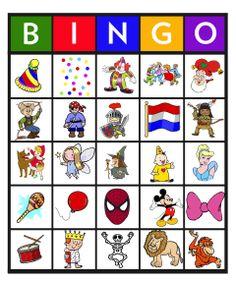 Feest: Bingo carnaval 5