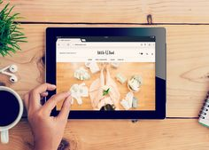 Little Luxe List website & branding by RhoDesign  www.littleluxelist.com