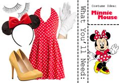 #DIY Minnie Mouse Costume