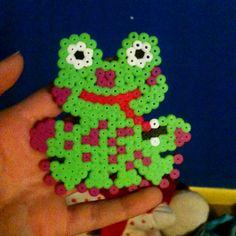 Iron bead froggie