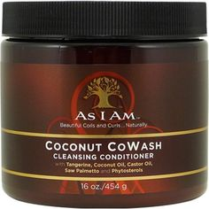 As I Am Coconut CoWash Cleansing Conditioner - CurlMart..for curly girls