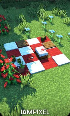 Minecraft Garden, Minecraft Mansion, Minecraft Cottage, Cute Minecraft Houses, Minecraft Room, Amazing Minecraft, Minecraft Blueprints, Minecraft Crafts, Minecraft Furniture