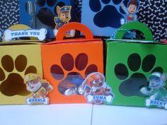 Paw Patrol Favor Box Paw Patrol Treat Bags by TriniGirlTreats