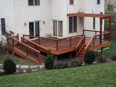 Decks with Ramp Design - Bing Handicap Accessible Home, Handicap Ramps, Ramp Design, Deck Design, Back Patio, Backyard Patio, Wheelchair Ramp, Deck Stairs, New Deck