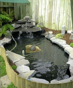 DIY BackYard Turtle Pond Designs Ideas A pond could possibly be built with cement to create a visually appealing pond shape which will be durable over the future. The pre-formed pond is most likely best for… Continue Reading →
