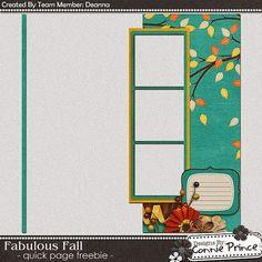 Scrapbooking TammyTags -- TT - Designer - Connie Prince, TT - Item - Quick Page, TT - Theme - Autumn or Thanksgiving