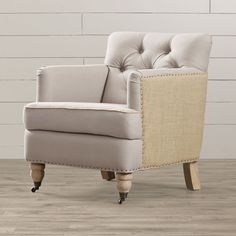 Found it at Joss & Main - Arden Tufted Arm Chair