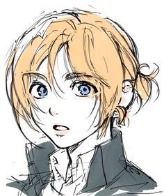 Fanarts Anime, Anime Characters, Manga Anime, Anime Art, Anime Love, Anime Guys, Art Sketches, Art Drawings, Aot Armin