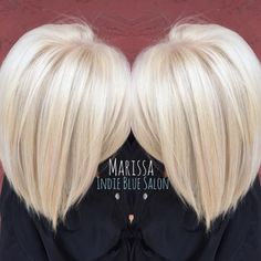 "Marissa Pence shares how she used the ""Platinum Card"" on the receptionist at the salon. ""Since she is at the front of the salon and works directly with all of our wonderful guests, I wanted to make sure her hair is taken care of and looking good."" The goal was an icy/cool platinum white blonde. ""She had 1.5 inches of natural level 7 hair at her base and 3-4 inches of warm level 7 color on her midshaft from a previous root retouch. There was barely any level 9 highlights on her ends. Her…"