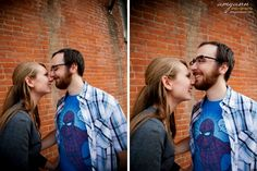 Short North engagement session in Columbus, Ohio ©2011 Amy Ann Photography www.amyannphoto.com #columbus #ohio #fall #engagement #portraits #couples #love #shortnorth