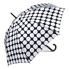 Stick Umbrellas by Marimekko - Kivet, Black and White - Stick Umbrellas, Fashion Umbrellas, Black Umbrellas - Umbrellas.net - Seattle