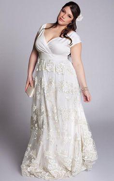 Idée robe taille empire - mise en valeur de la poitrine, hanches non marquées - liberté de mouvement !