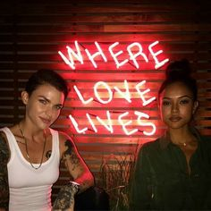 Ruby Rose & Karrueche