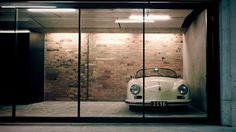 Porsche in the garage Man Cave Garage, Garage House, Car Garage, Garage Office, Garage Studio, Garage Art, Garage Lighting, Interior Lighting, Lighting Ideas