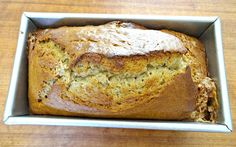 This banana bread recipe is perfect. It is perfectly moist, tender, has the right amount of banana flavor, and the perfect amount of sweetness...