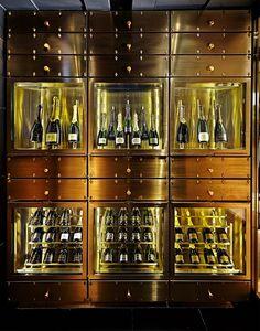 Champagne Krug, the namesake and identity of the restaurant.