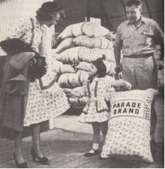 Hands On Hemp — Reusable Produce Bags and Bulk Bags: Cloth Sacks have been around a long time!