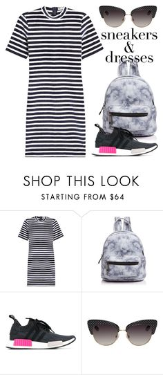 """""""Aug 22nd (tfp) 4205"""" by boxthoughts ❤ liked on Polyvore featuring T By Alexander Wang, Street Level, adidas Originals, Dolce&Gabbana and tfp"""